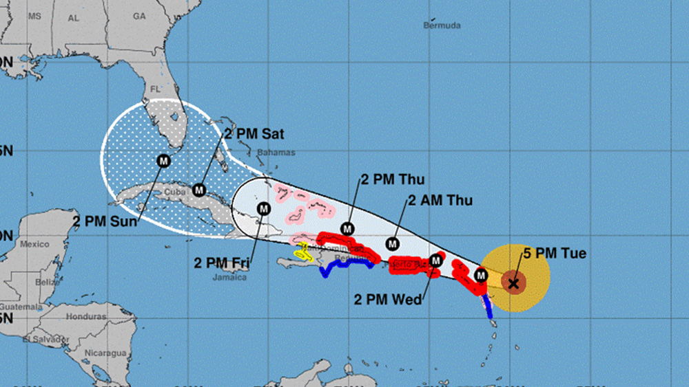 All hands on deck for PHD Bahamas as Hurricane warnings are in full effect.